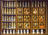 Old pharmacy Llivia — Stock Photo
