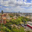 Panorama of the city of Barcelona Spain — Stockfoto