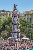 Castellers Barcelona 2013 — Stock Photo