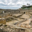 Ruins of the ancient amphitheater in Tarragona, Spain — Stock Photo