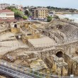 Ruins of the ancient amphitheater in Tarragona, Spain — Stock Photo #24790893