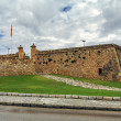 Stock Photo: View of Forti de Sant Jordi in Tarragona, Spain, fort built in 1709 by English army under War of Succession