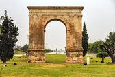 Triumphal arch of Bera in Tarragona, Spain. — Stock Photo