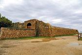 Forti de santa ana in tarragona, spanien, — Stockfoto