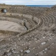 ruins of the ancient amphitheater in tarragona spain — Stock Photo