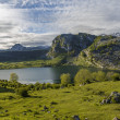 Stockfoto: Lake Ercina, Asturias