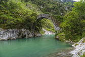 Roman stone bridge in Asturias — Stock Photo
