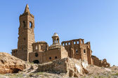 Belchite village destroyed in a bombing during the Spanish Civil War — Stock Photo