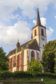 Church in the city of Klausen — Stock Photo