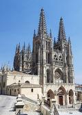 Katedrála v burgosu, španělsko — Stock fotografie