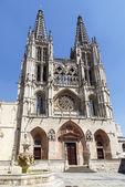 Catedral de burgos, españa — Foto de Stock