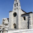 Church of San Lesmes, Burgos Spain — Stock Photo