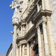 Santa Maria Maggiore church Montblanc, Tarragona Spain — Stock Photo