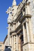 Montblanc chiesa di santa maria maggiore, tarragona spagna — Foto Stock