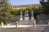 Cid güneş anıt, burgos, i̇spanya — Stok fotoğraf