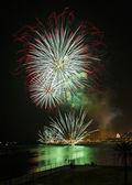 Fireworks Mercy 2013 in Barcelona — Stock Photo