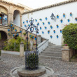 Cordoba Andalusian patio — Stock Photo