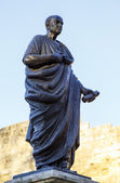 Lucius Annaeus Seneca, known as Seneca the Younger, Cordoba, Spain — Stock Photo