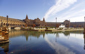 Plaza de Espana - Spanish Square in Seville, Spain — Stock Photo