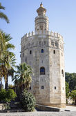 Magnificent Tower of gold in Seville — Stock Photo