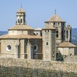 Stock Photo: Monastery of SantMaride Poblet, Catalonia, Spain