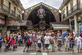 La Boqueria market, Barcelona — Foto de Stock