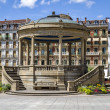 Stock Photo: Kiosk in Pamplona