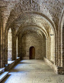 Courtyard of Castle of Cardona. Catalonia, Spain  — Stock Photo