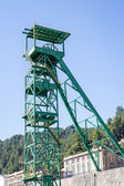 Disused tower of the potash mine of Cardona — Stock Photo