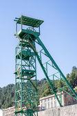Disused tower of the potash mine of Cardona — Stock Photo