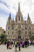 Barcelona gothic catholic cathedral — Foto de Stock
