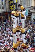 Castellers Barcelona  2013 — Stock Photo