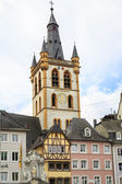 St. Gangolf church in Trier — Stock Photo