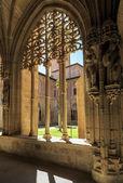 Santa Maria la Real monastery, Najera, Navarre — Stock Photo