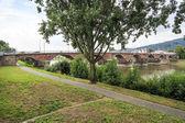 Antiguo puente romano de tréveris — Foto de Stock
