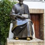 Moses Maimonides, Cordoba — Stock Photo #42870235