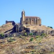 Castle of san vicente de la sonsierra in la rioja — Stock Photo