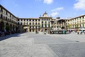 Tudela charters Square — Stock Photo
