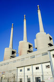 Thermal power plant in Sant Adria — Foto de Stock