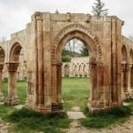 San Juan cloister ruins at Soria in Castilla Spain  — Stock Photo #45121573