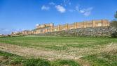 Castelo de Berlanga de duero, soria — Fotografia Stock