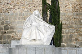 Statue of St. Teresa in Avila Spain — Stock fotografie