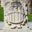 Coat of arms belonging to the walls of Avila — Stock Photo #45165763