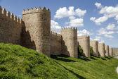 Panoramica mura medievali di avila — Foto Stock