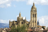 Cathedral of Segovia  — Stockfoto