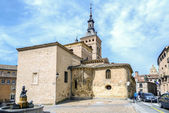 Church of St. Martin Segovia — Stock Photo
