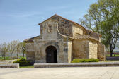 Church of San Juan Bautista, Banos de Cerrato — Stock Photo
