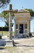 Ermita walk in Arevalo — Stock Photo