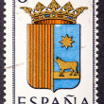 Arms of Provincial Capitals shows Teruel — Stock Photo #45945265