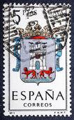 Arms of Provincial Capitals shows Alava — Stock Photo